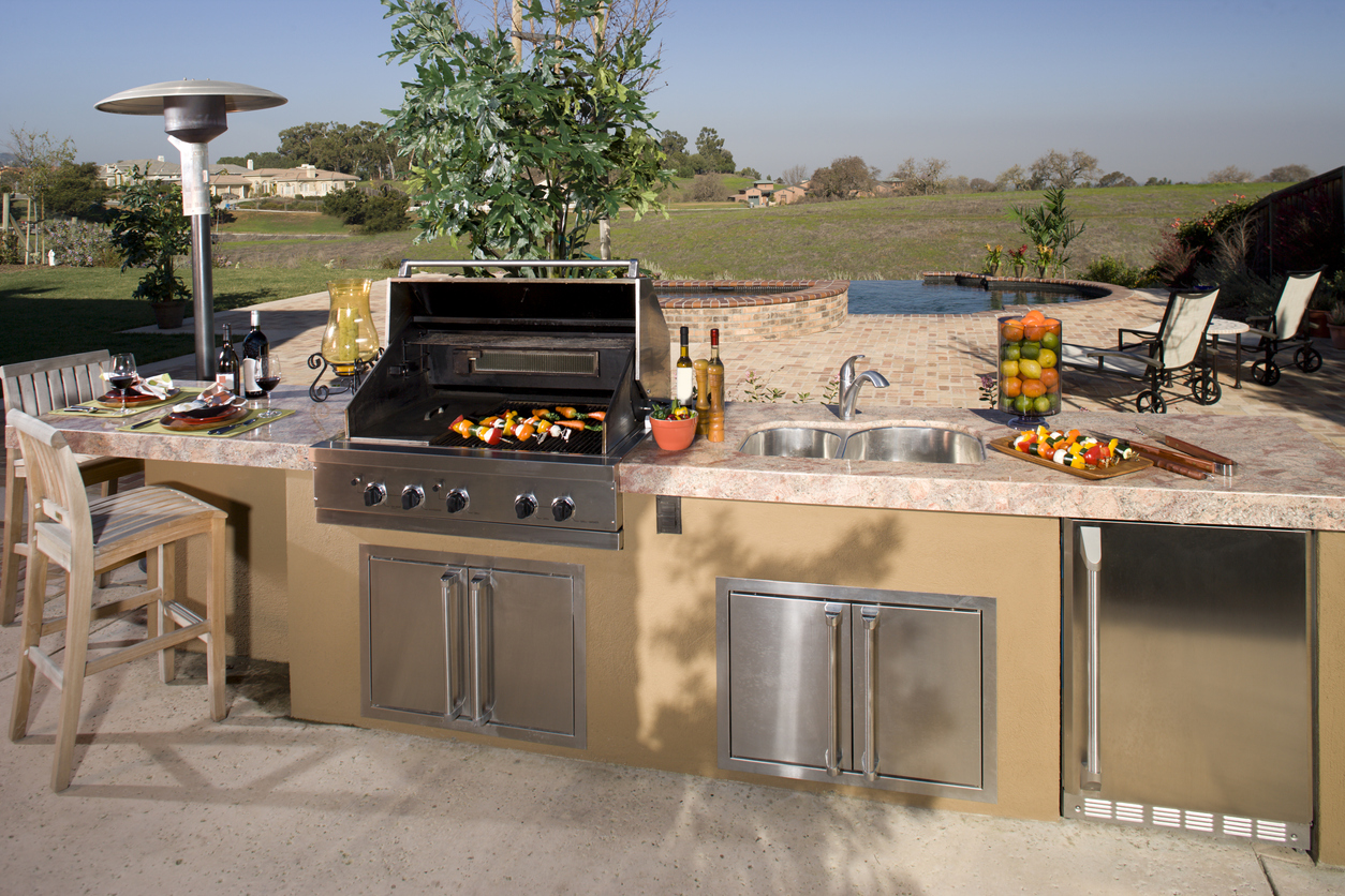 Backyard Remodeling Contractor Folsom Outdoor Kitchen Contractors Folsom