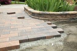 patio paver installation in El Dorado Hills, CA